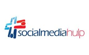 Logo Social media hulp ondertekent digitaal