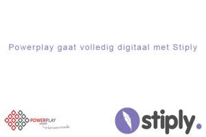 Powerplay ondertekent digitaal met Stiply